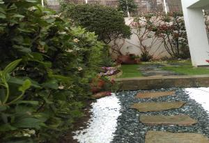 Μετά τη διαμόρφωση του κήπου